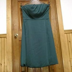 Banana Republic Strapless Dress with pockets